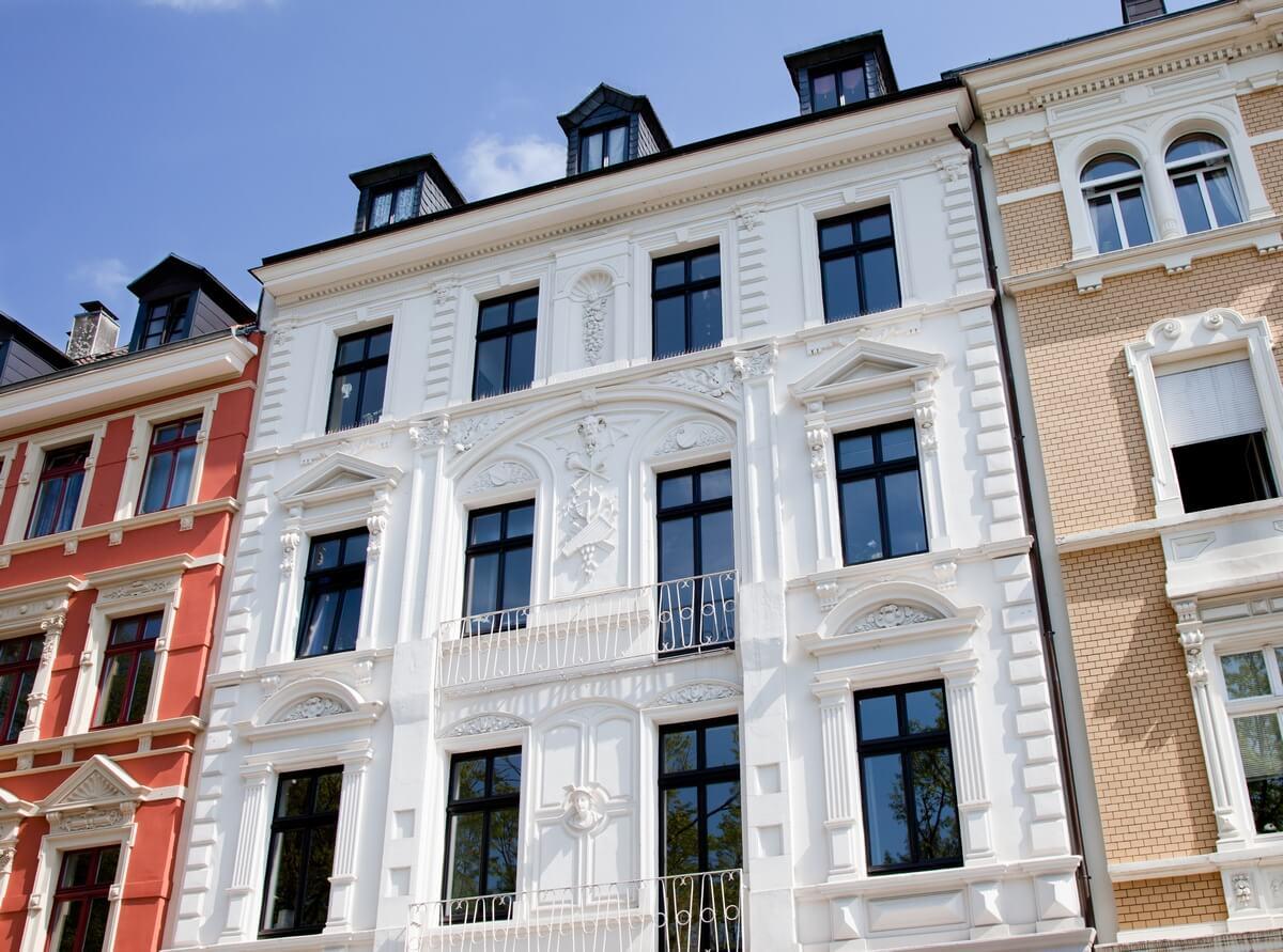 Fassade Altbau - Restaurierung