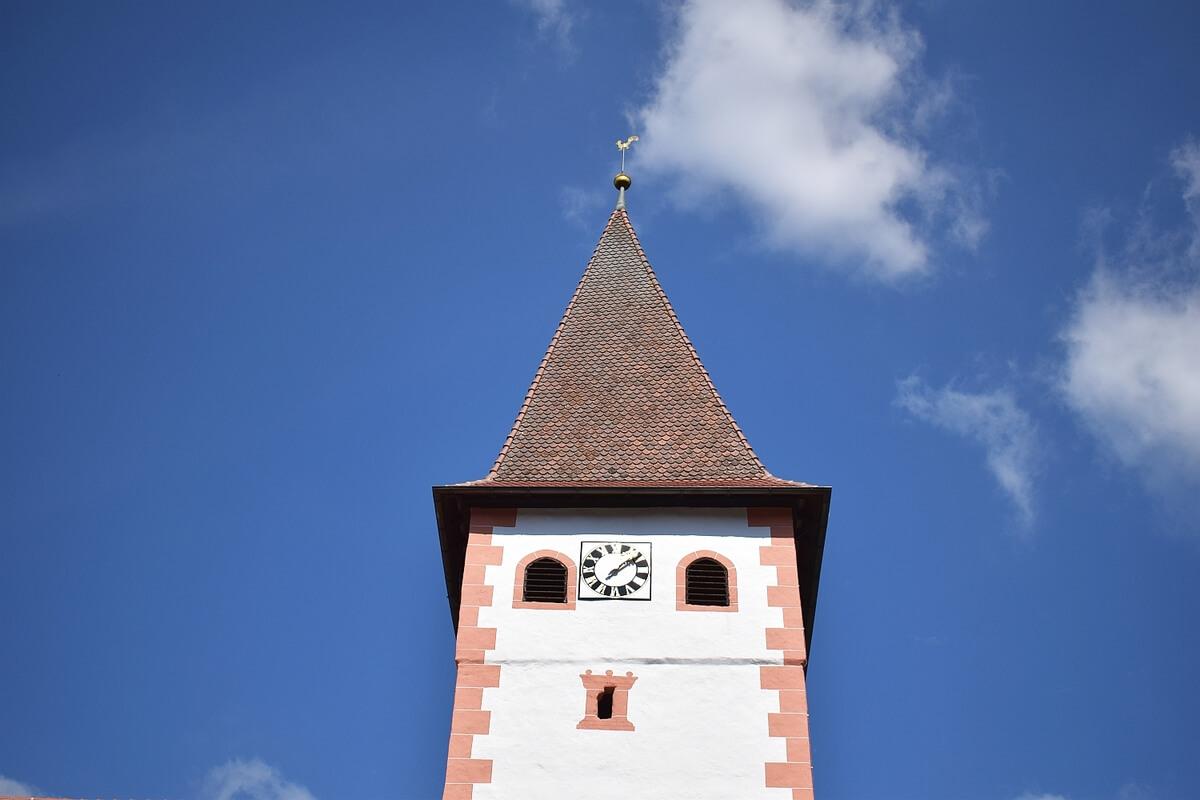 Restauriertes Gebäude